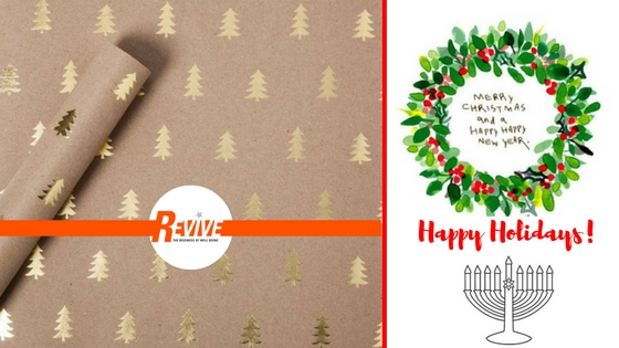 Happy Holidays from Revive Wellbeing Elsternwick